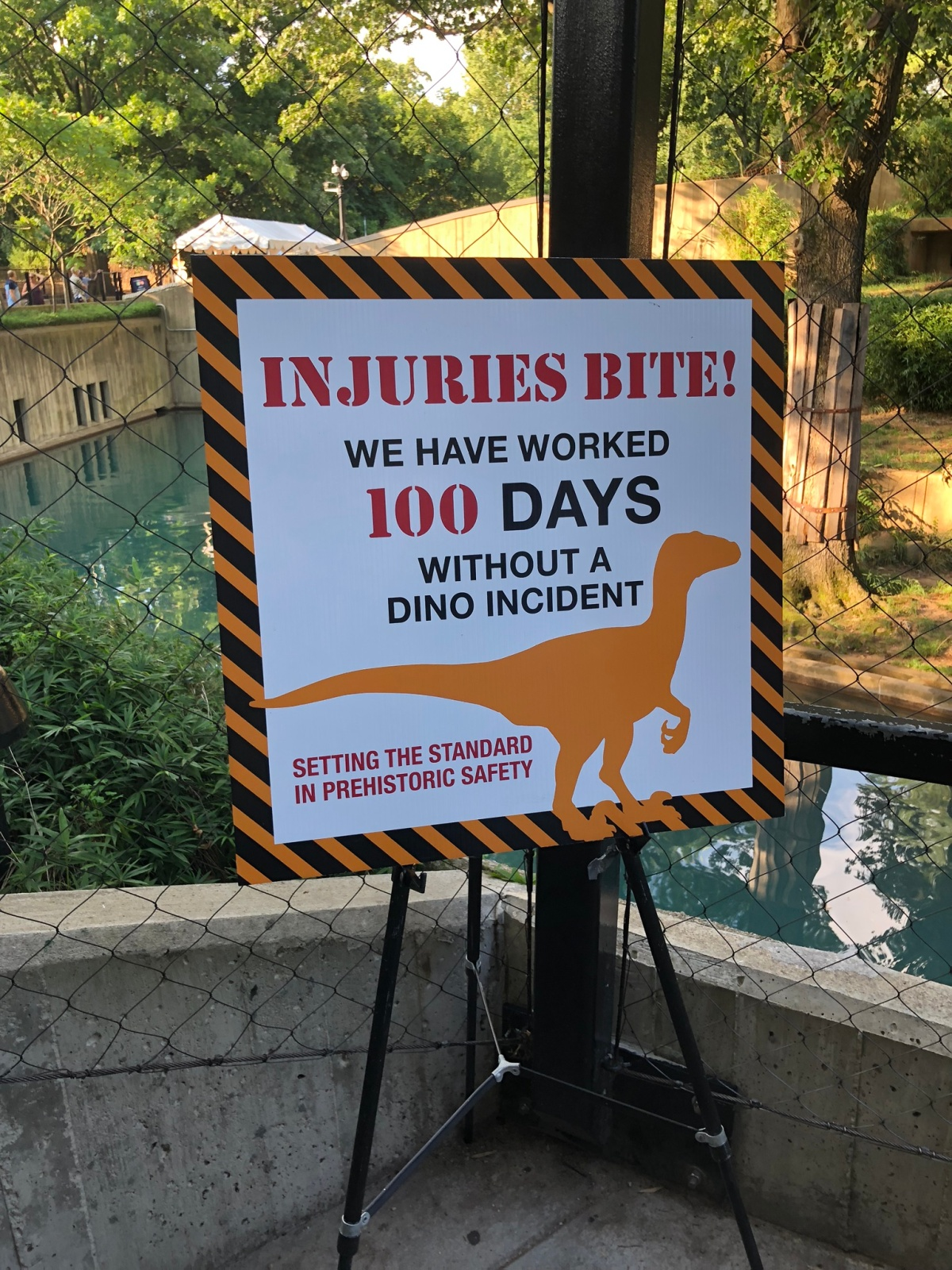 No Dino Incidents