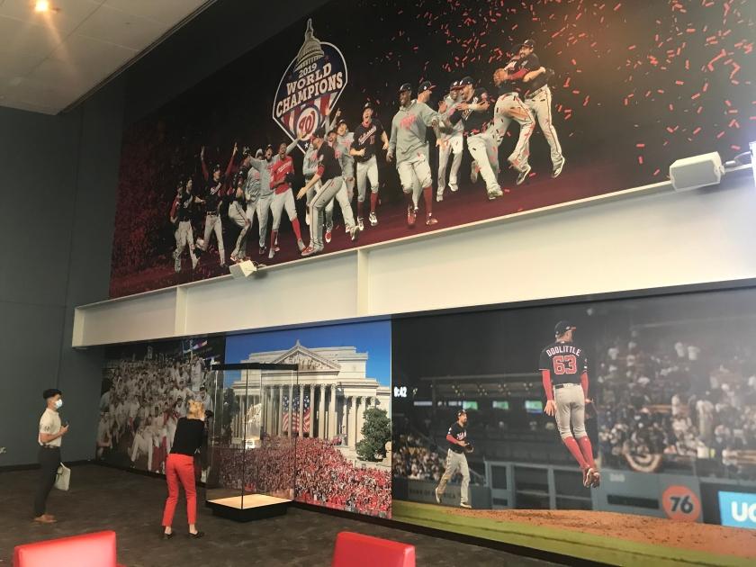 World Series Murals in Champions Club